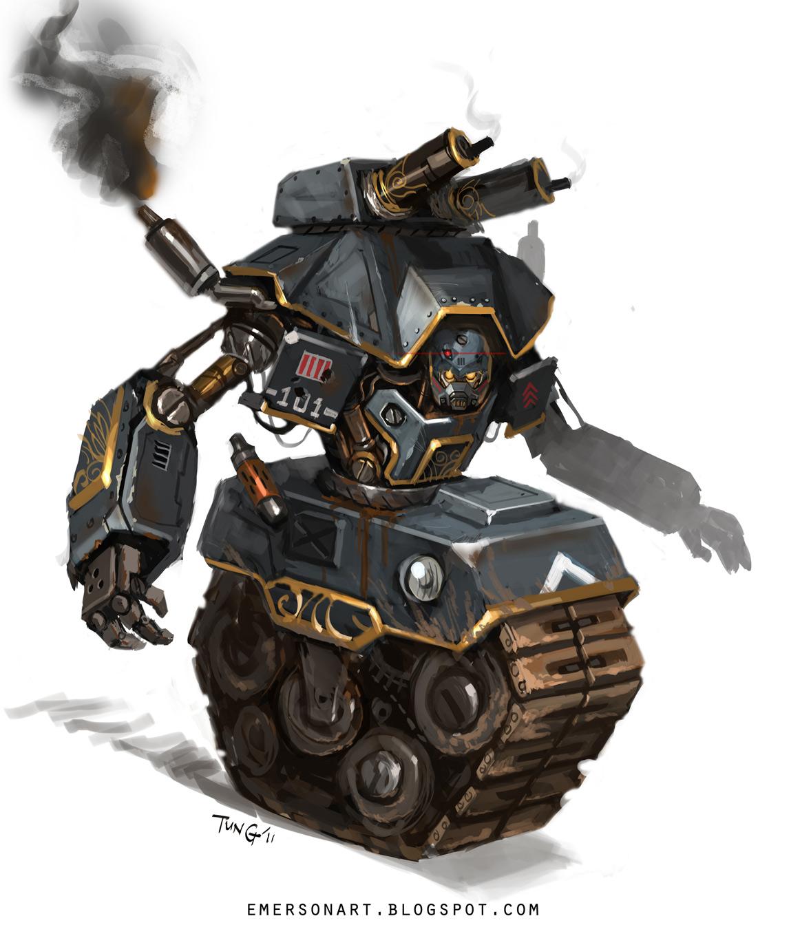 Concept Robots Concept Robots By Emerson Tung