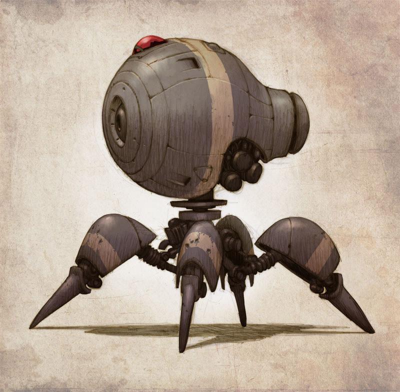 robot science fiction concept - photo #32
