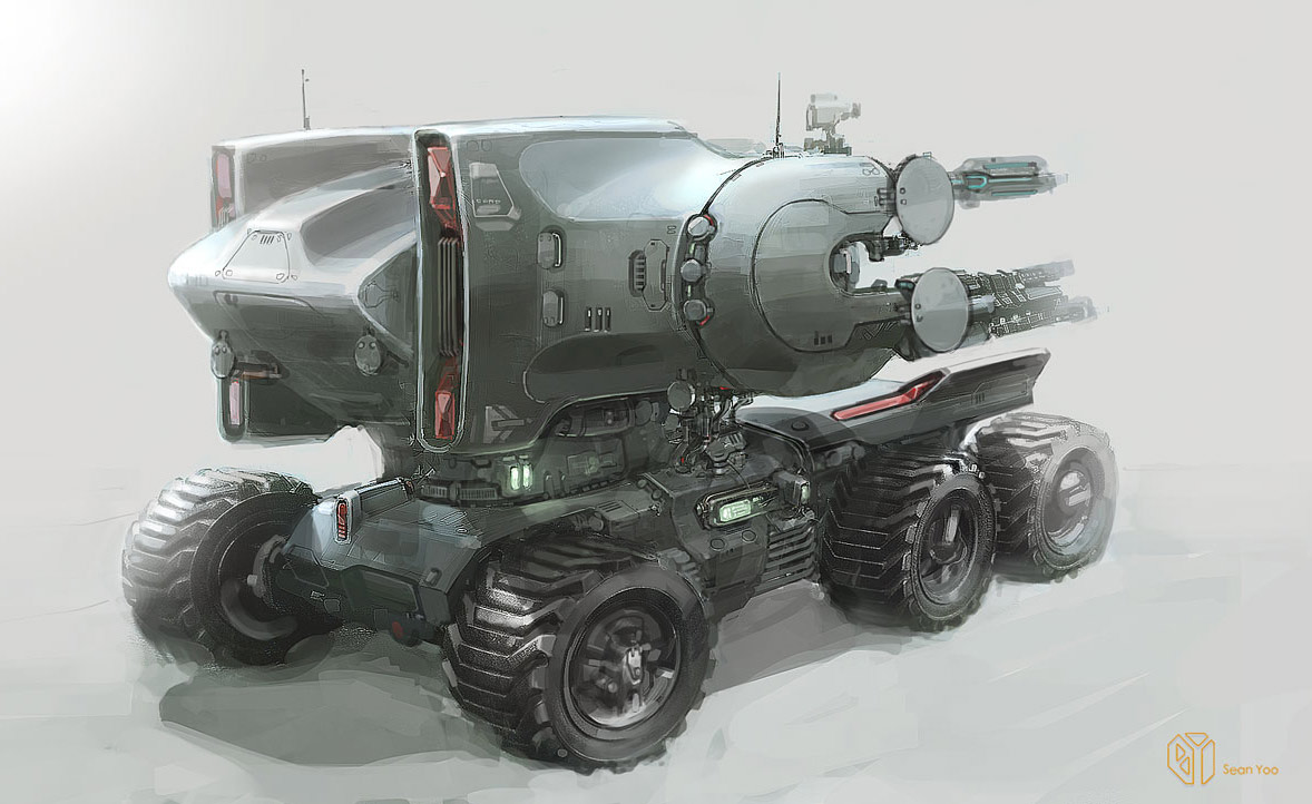 Concept Cars And Trucks: Concept Vehicle Art By Sean Yoo