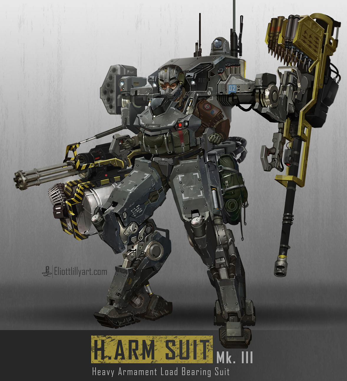 meet the soldier robotic arm