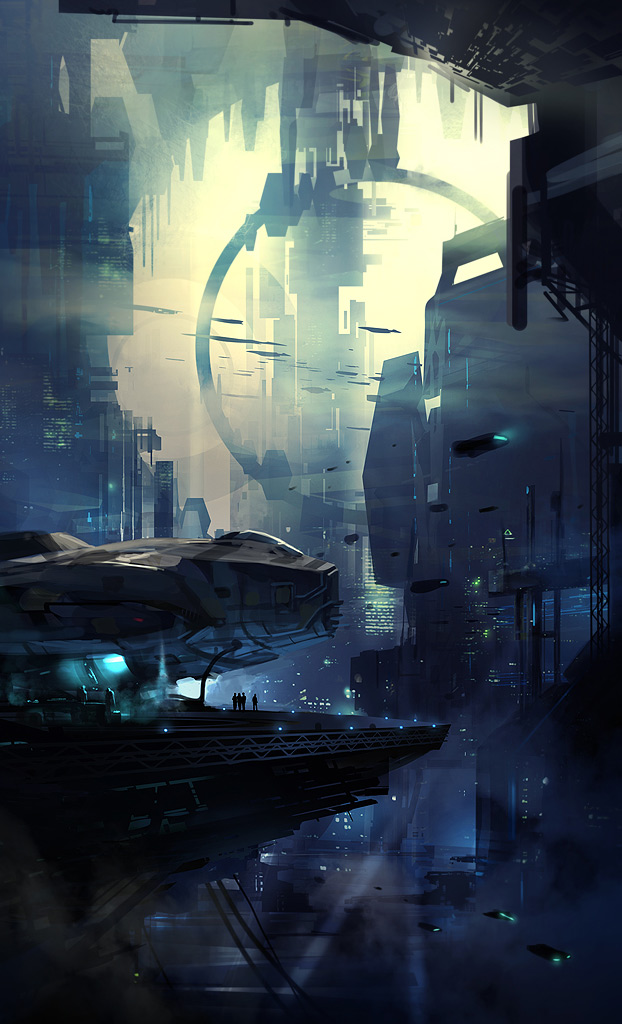 concept ships: Concept ships by Daryl Mandryk