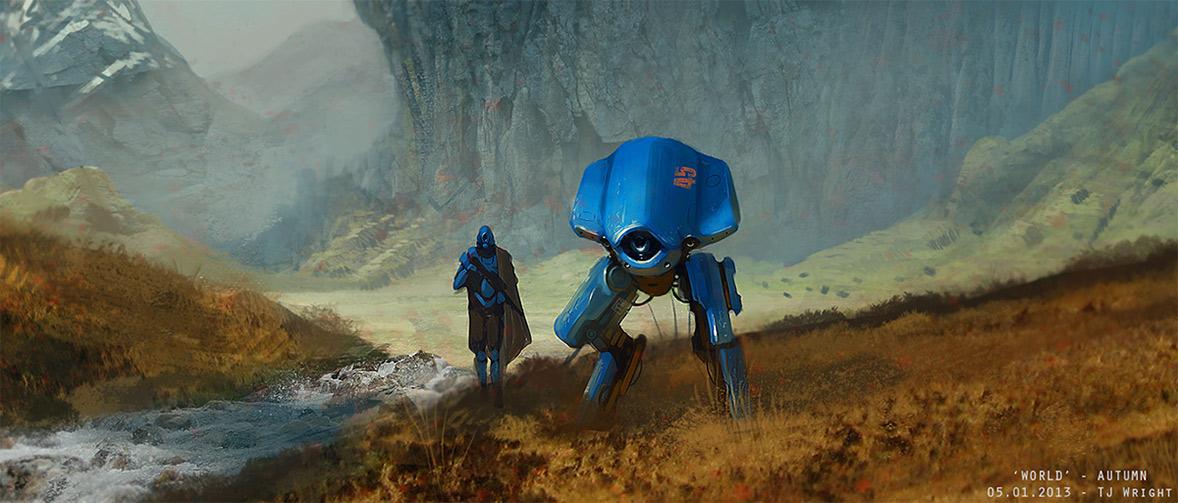 robot science fiction concept - photo #43