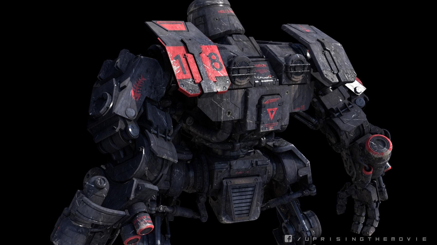 robot science fiction concept - photo #11