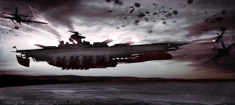 concept ships  ww2 style yamato concept ship by vaughan ling
