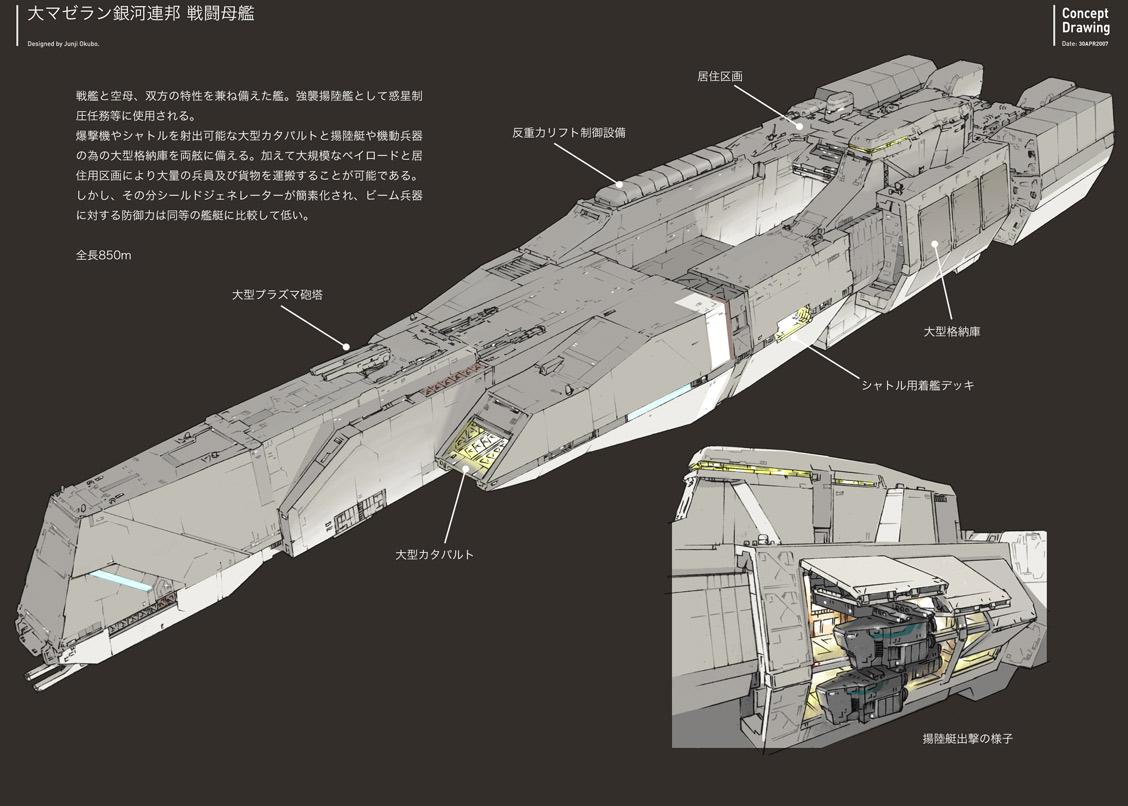 Concept ships junji okubo concept ships for Spaceship design