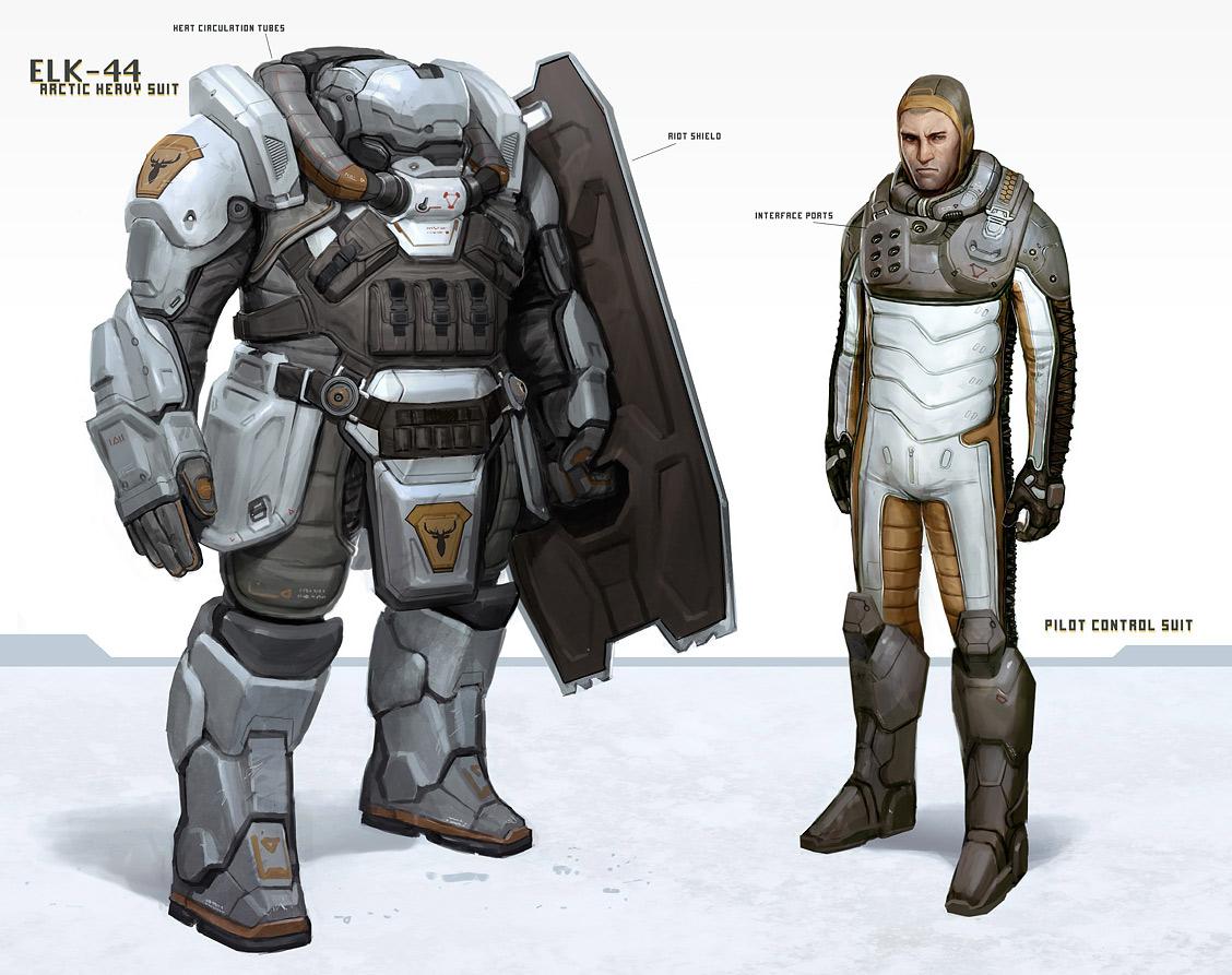 Military Mech Suit