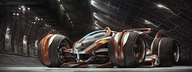 Concept Cars And Trucks Mike Hill S Concept Vehicle Art