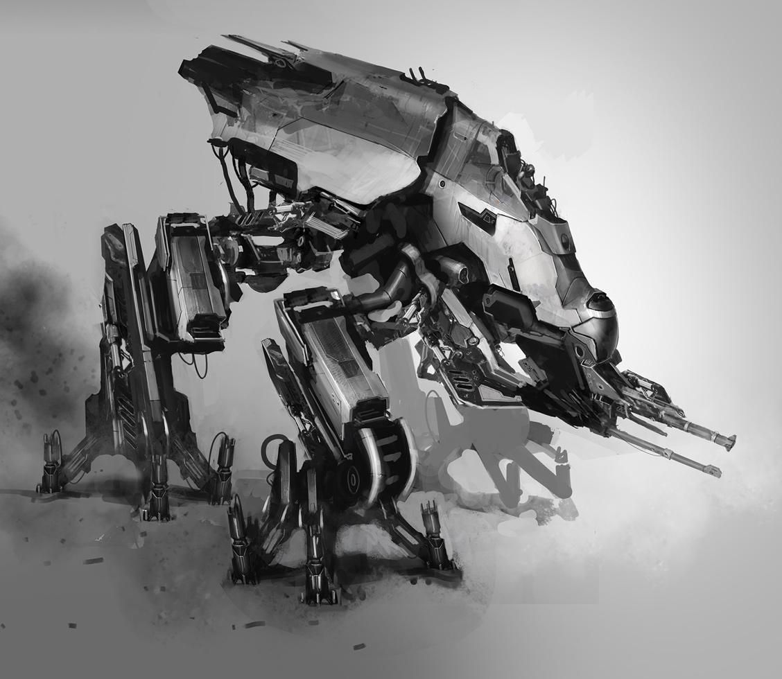 robot science fiction concept - photo #9