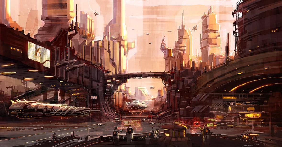 concept ships: Concept spaceship designs by Pat C. Presley