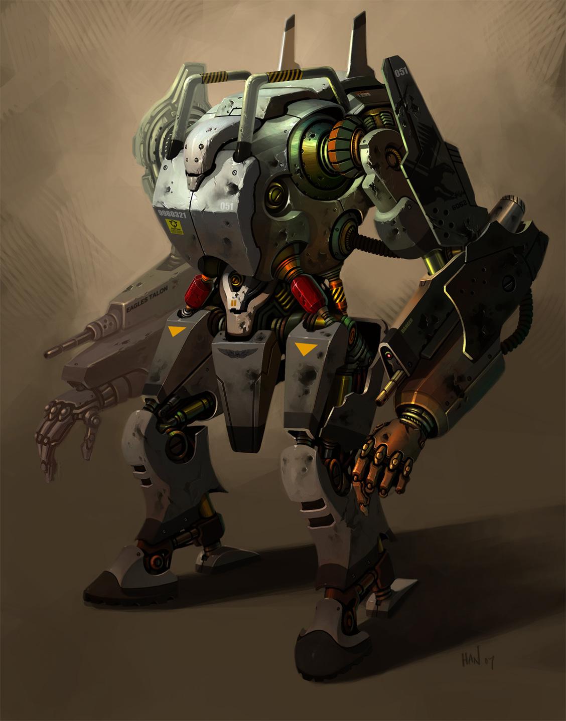 Роботы мехи своими руками 853
