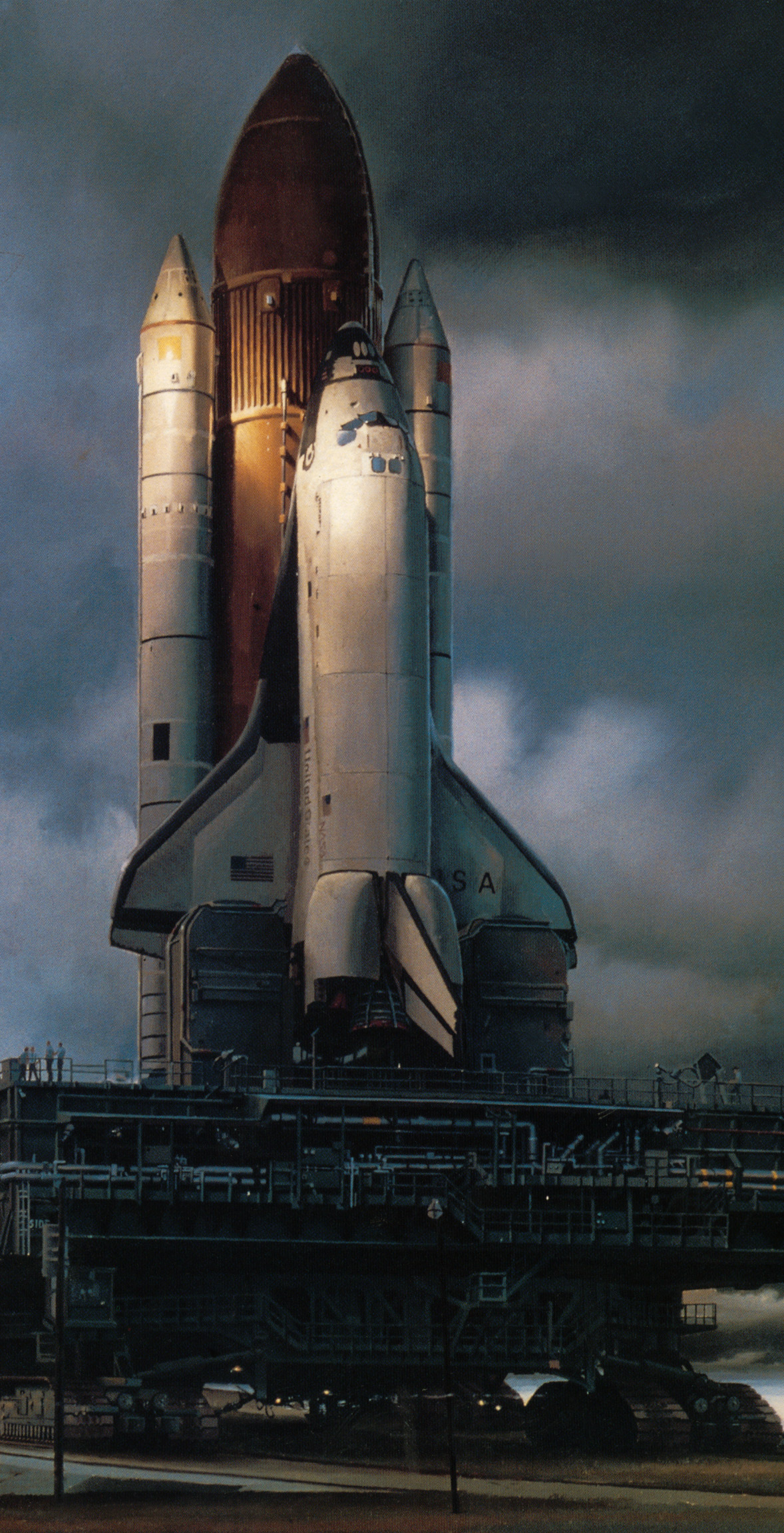 concept ships: Traditional Space Shuttle illustrations