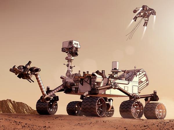 concept ships: Curiosity lands on Mars!