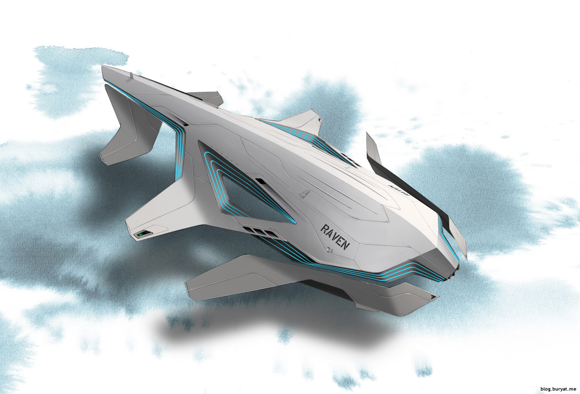 Concept ships january 2012 for Spaceship design