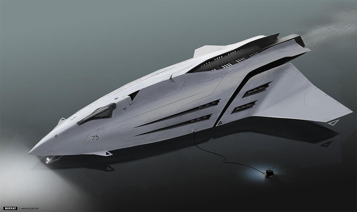 Concept ships october 2012 for Spaceship design