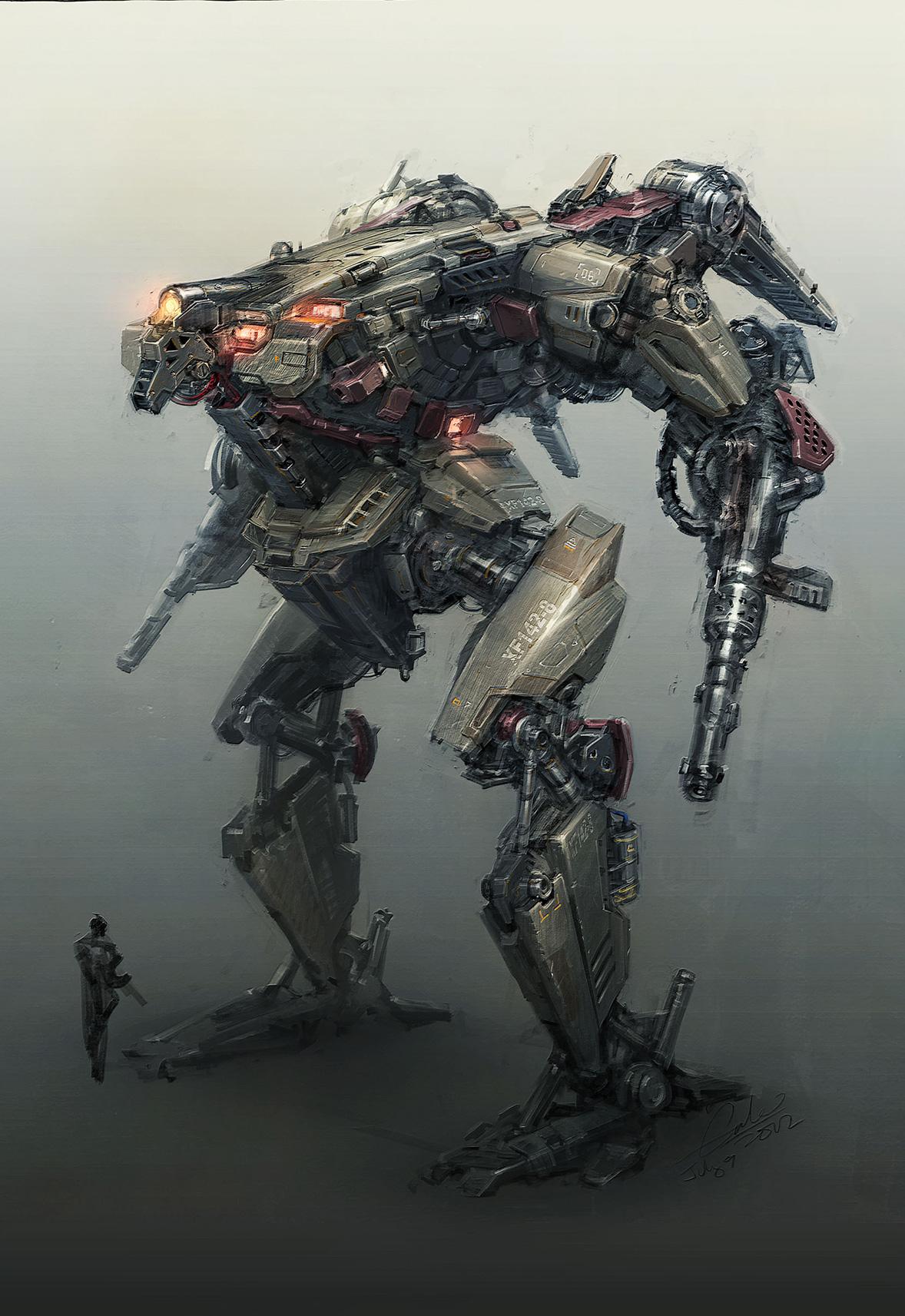 robot science fiction concept - photo #35