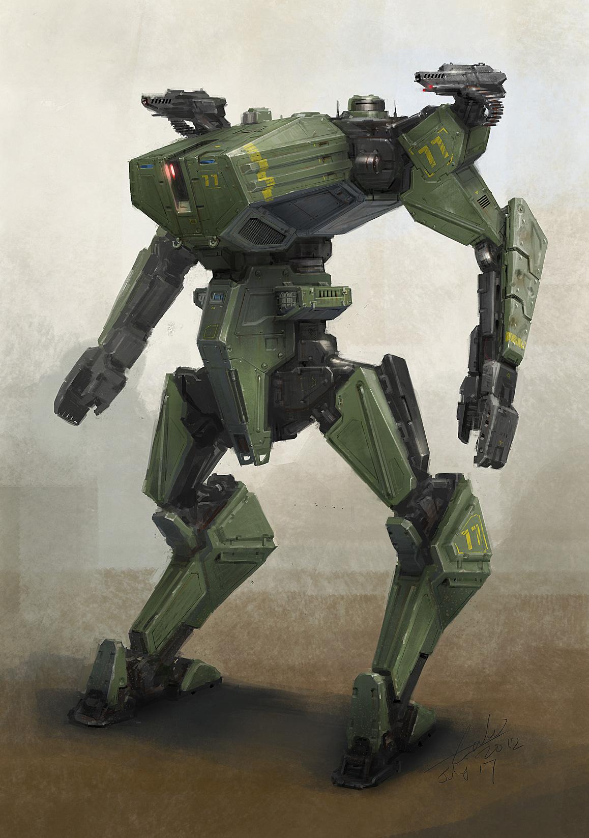 robot science fiction concept - photo #14