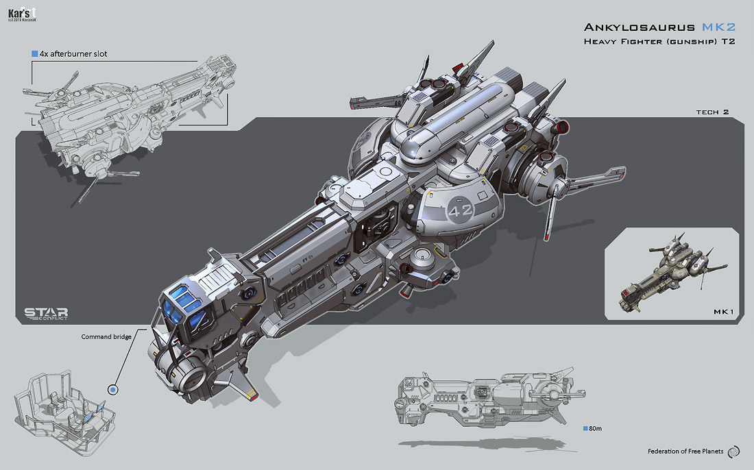 Concept ships march 2012 for Spaceship design