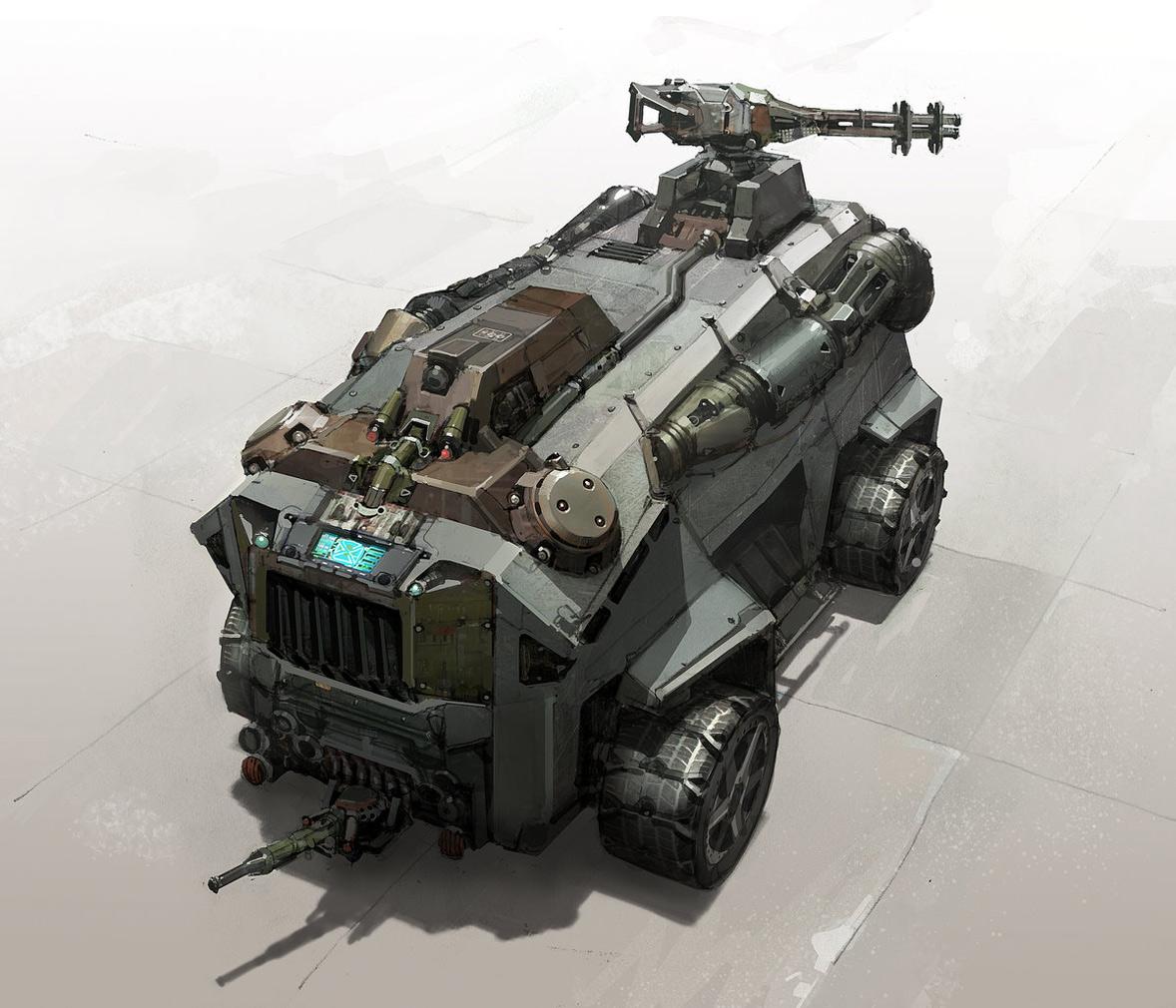 Xtreme Car Concept Vehicle Art By Khang Le