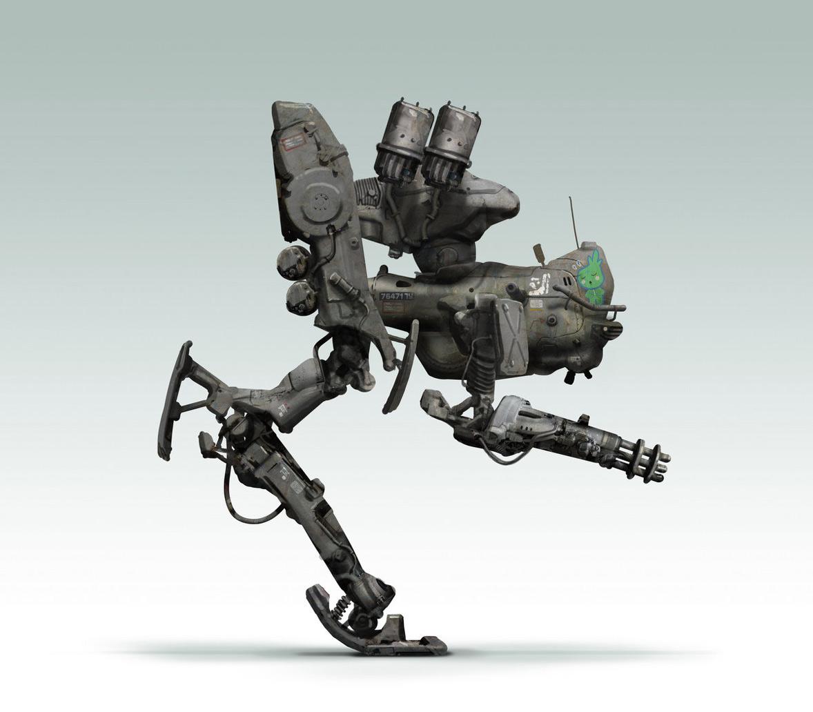 Robot Concept Drawings Concept Robot Mech Mecha