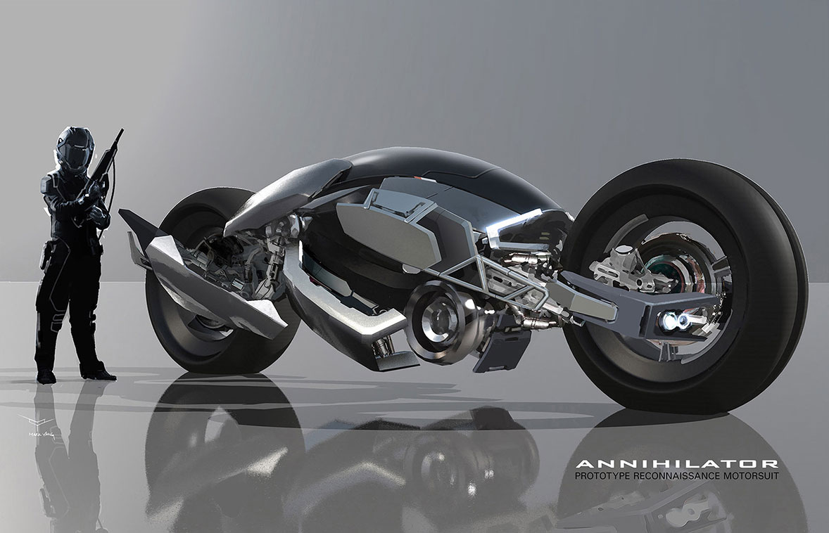 Concept Cars And Trucks Concept Bike By Mark Yang