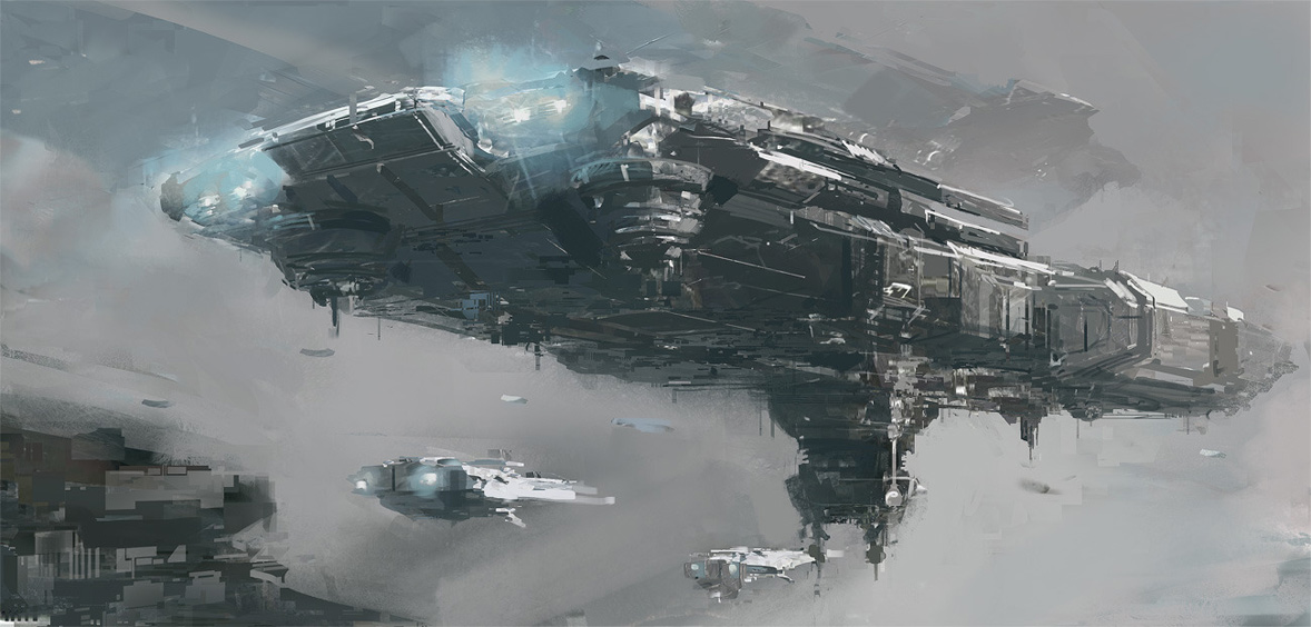 concept ships: Concept ships by Mikko Kinnunen