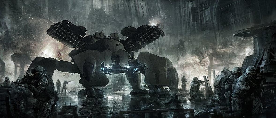 robot science fiction concept - photo #26