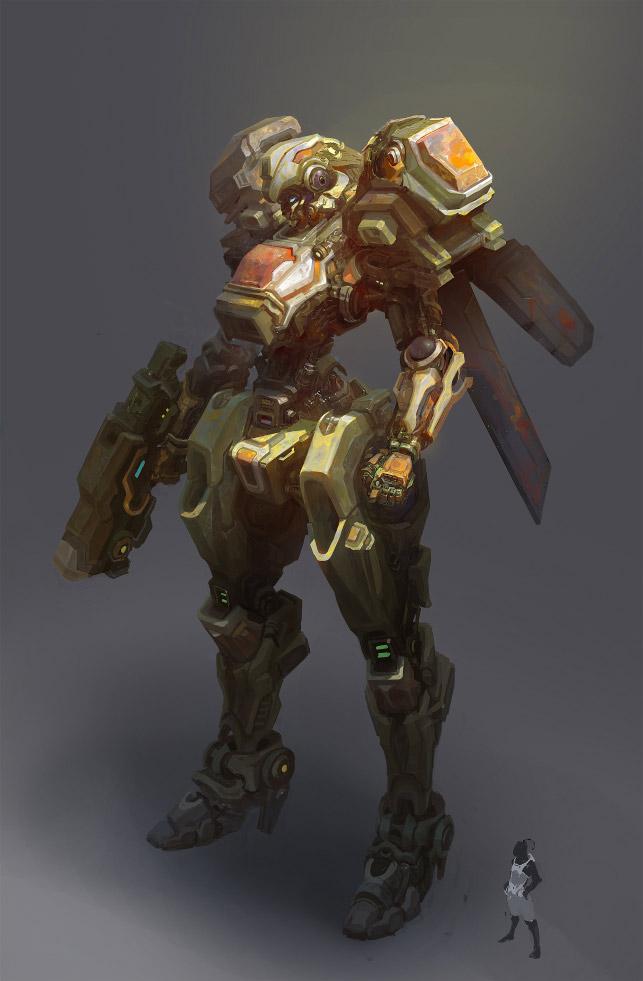 robot science fiction concept - photo #10