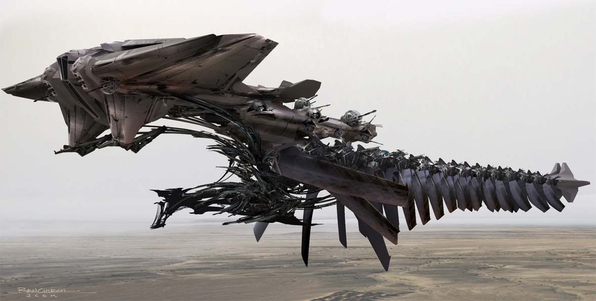 concept ships: JOHN CARTER OF MARS concept spaceship art ... | 1178 x 595 jpeg 134kB