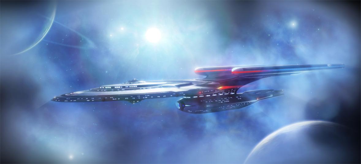 Star trek starship designs concepts for Wohnung star trek design