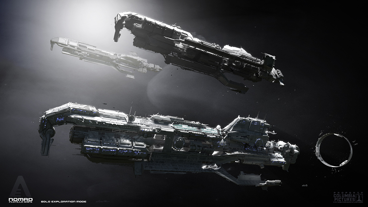 Concept ships spaceships for after earth by colie wertz for Space art design
