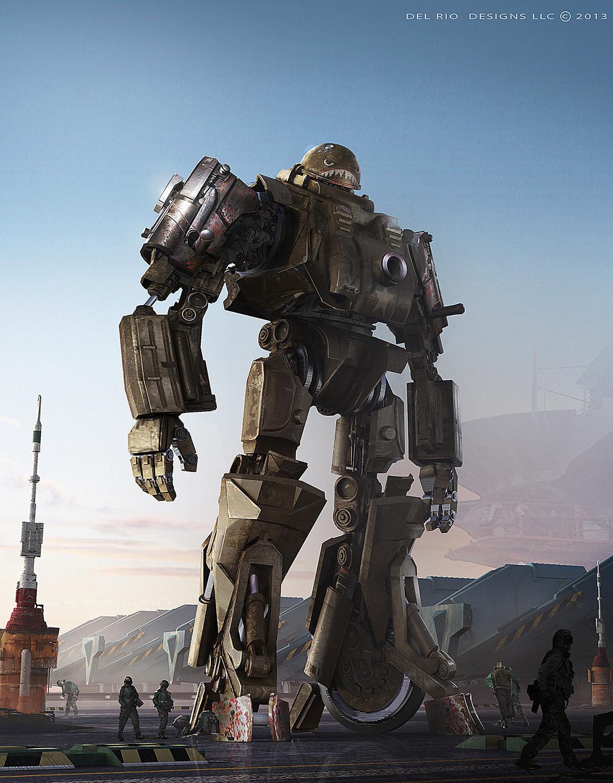 robot science fiction concept - photo #44