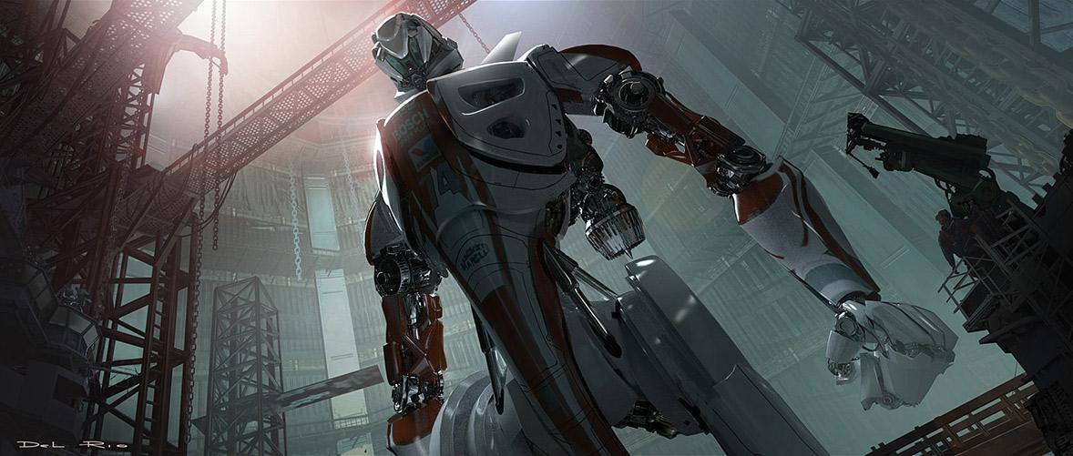 robot science fiction concept - photo #8