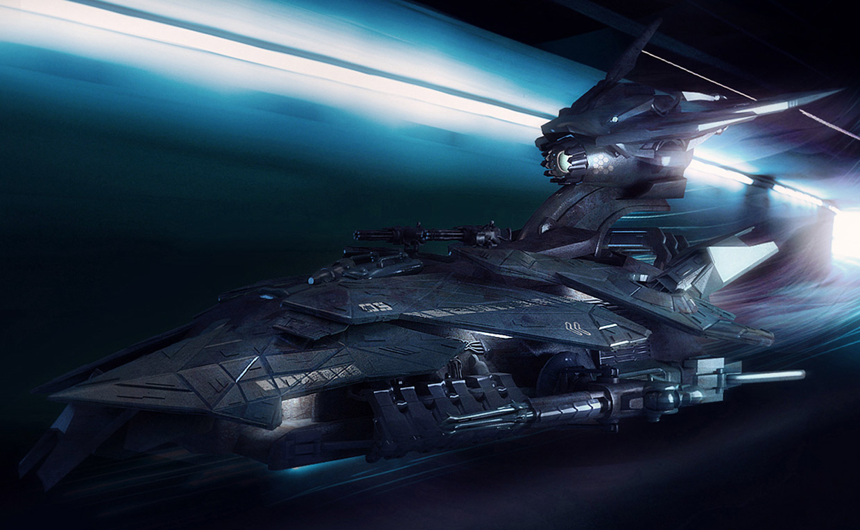 Concept ships spaceships with interiors by encho enchev for 11553 sunshine terrace