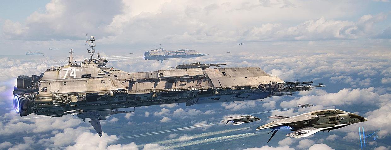 concept ships: Futuris...