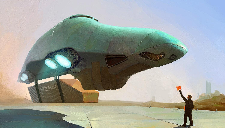 Concept Ships Ships By Ivan Rastrigin