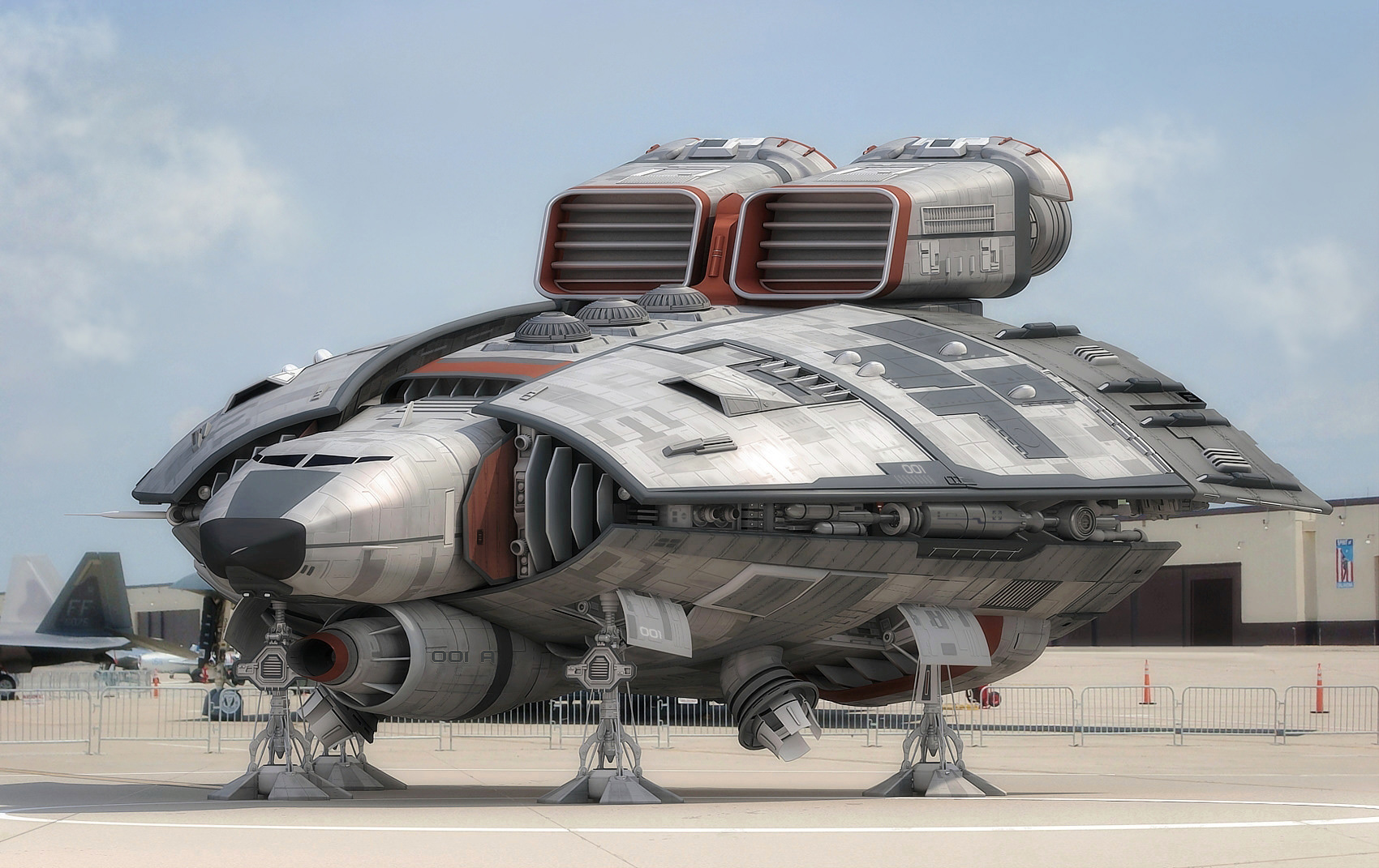 concept ships: Spaceships by Michael Daglas