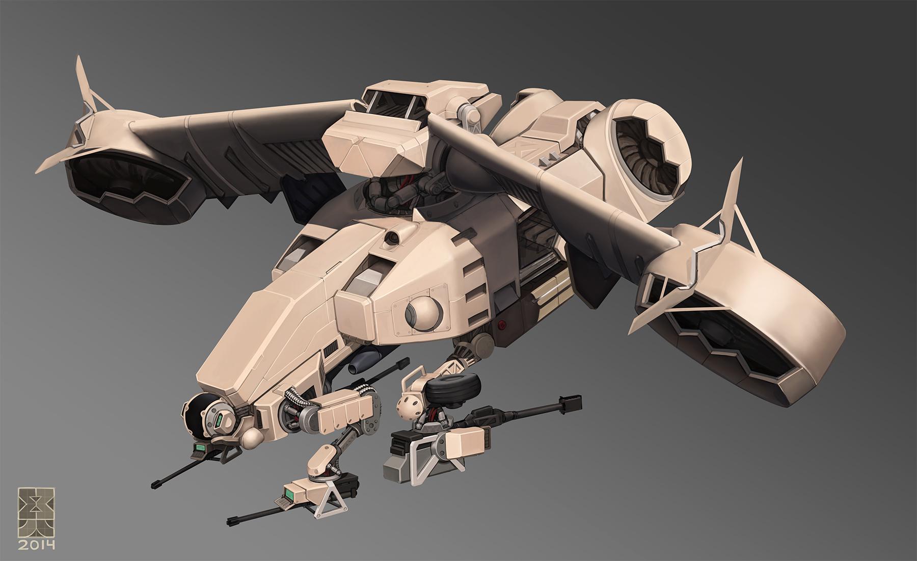 Iberian Gunship By Michael Kingery