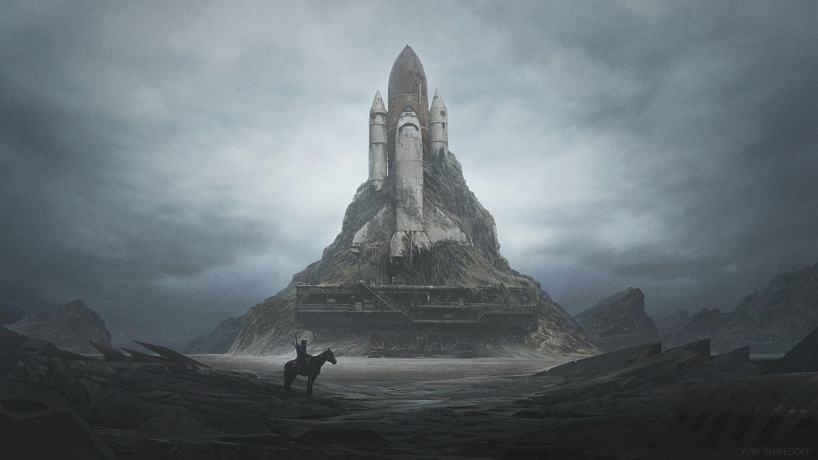 White Castle by Yuri Shwedoff