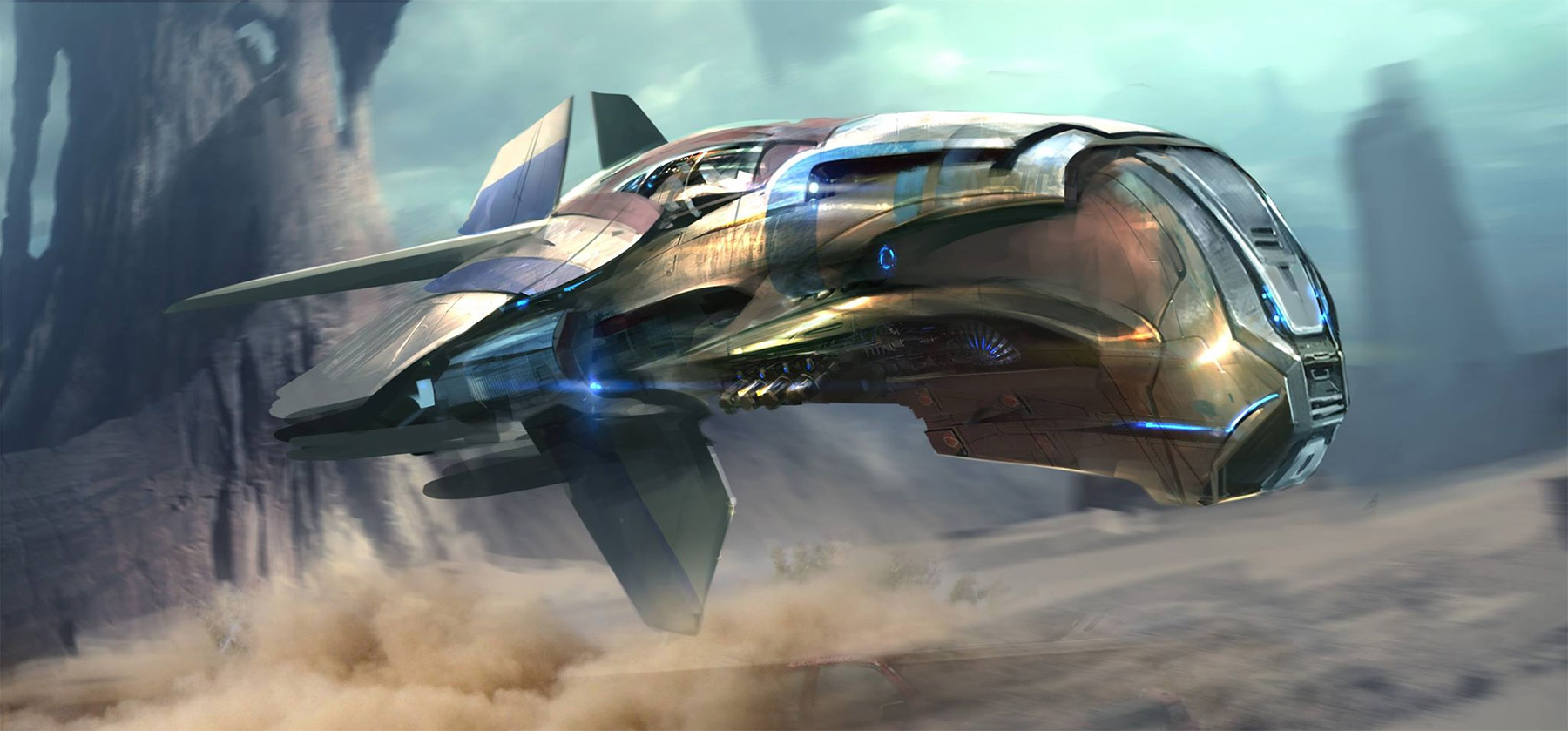 concept ships: Guardians of the Galaxy concept art by ...