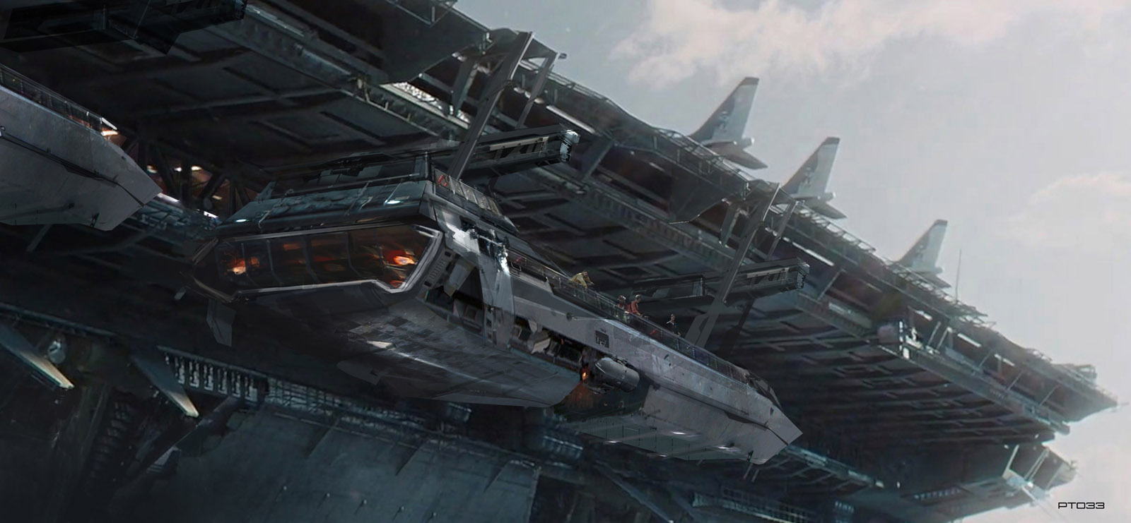 concept ships: Concept art from Atomhawk Design Ltd.