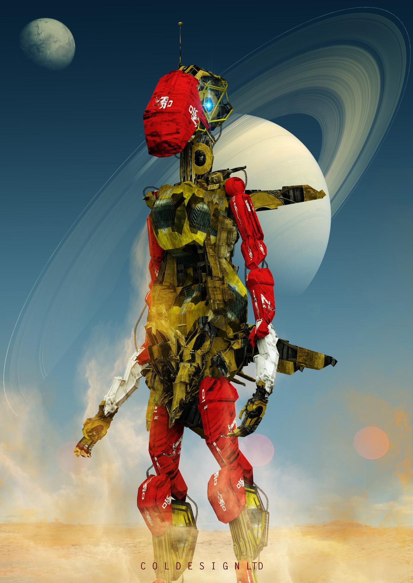 robot science fiction concept - photo #17