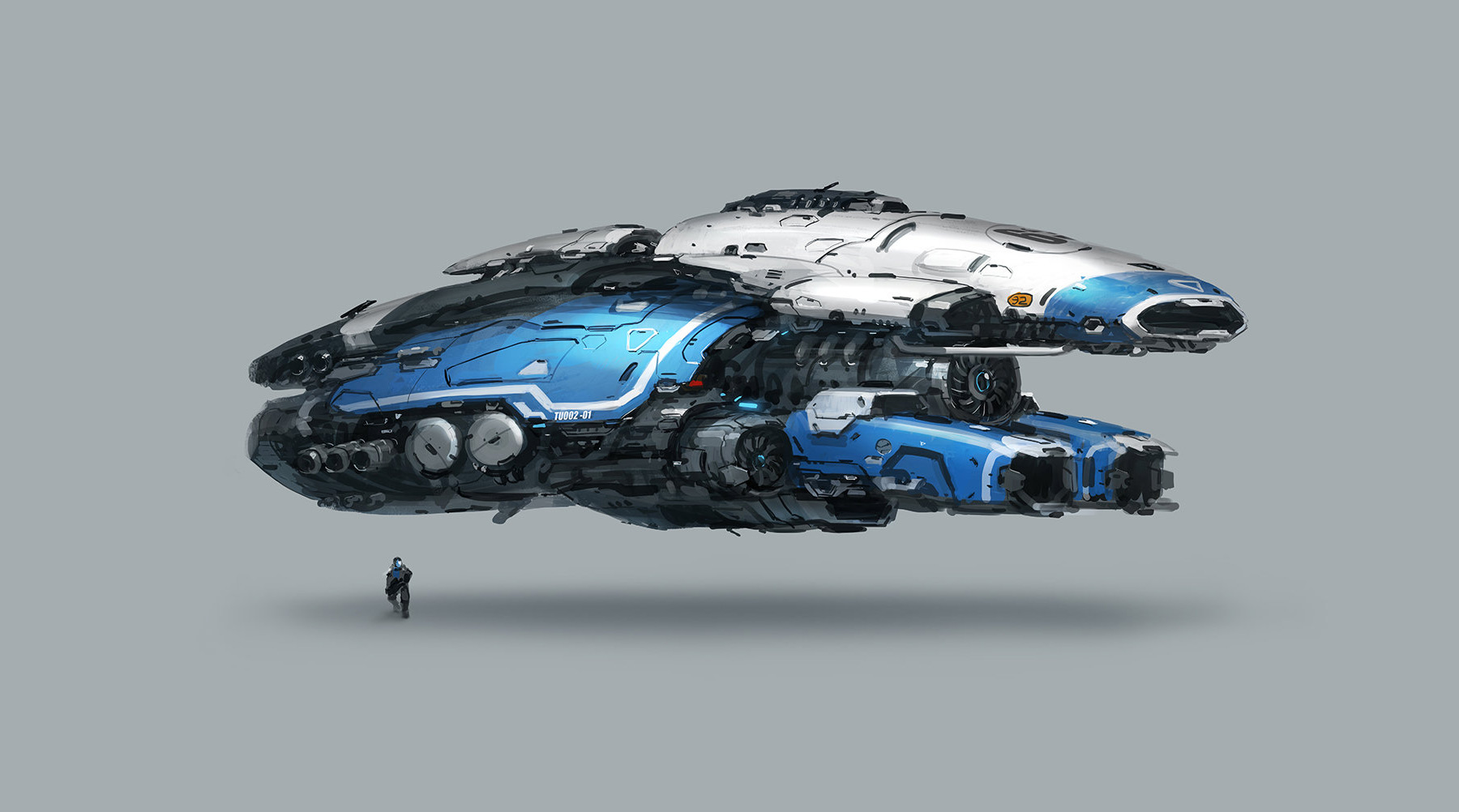 Concept ships spaceships by j c park for Space concept