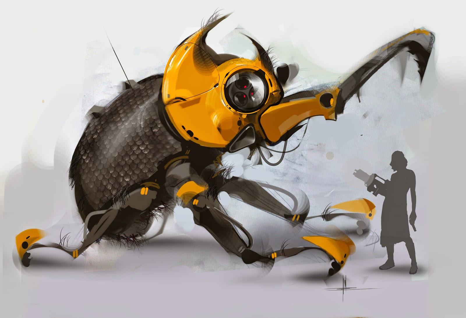 giant japanese beetle