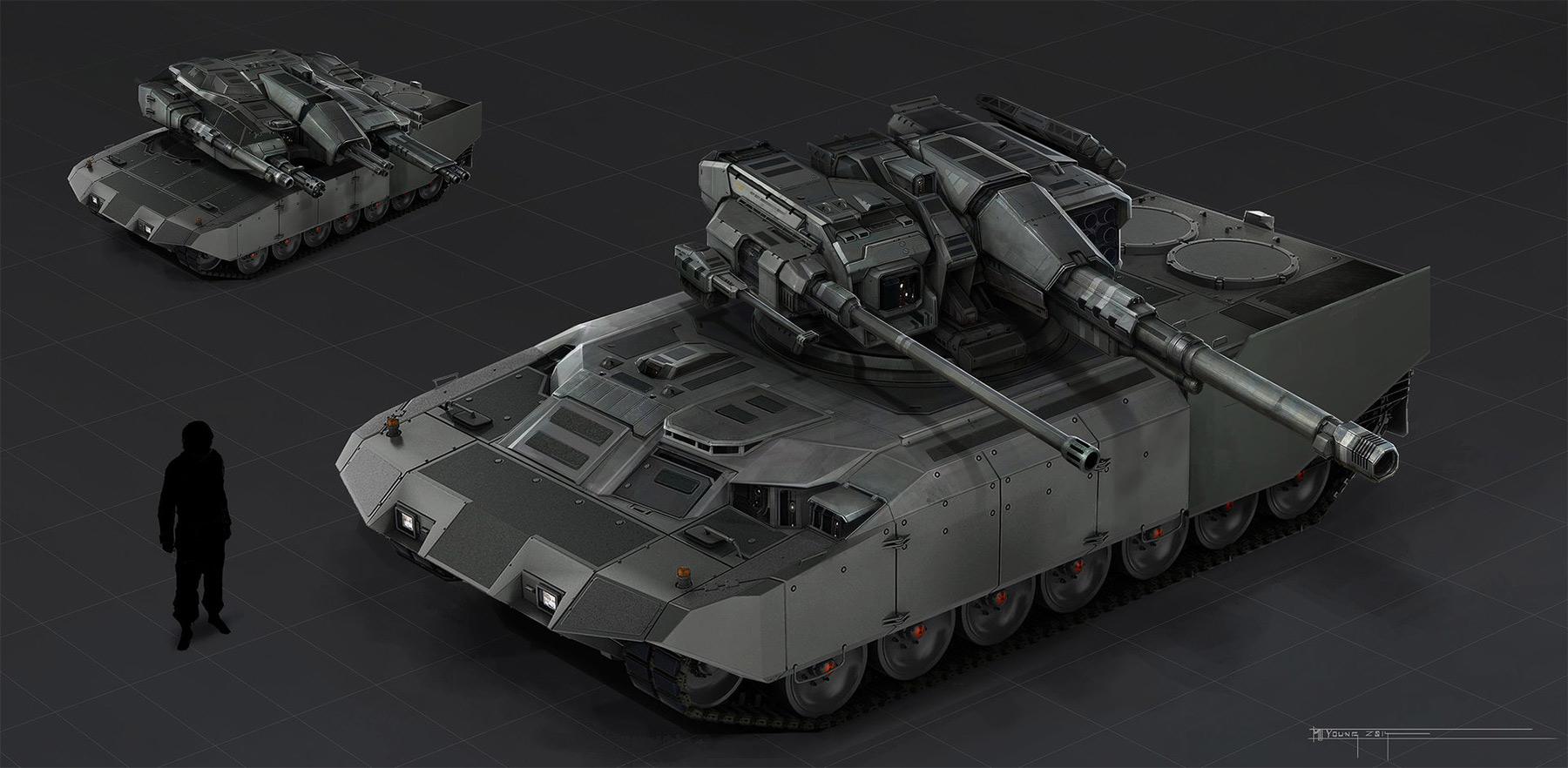 Tank Architecture And Interior Design: Concept Tanks