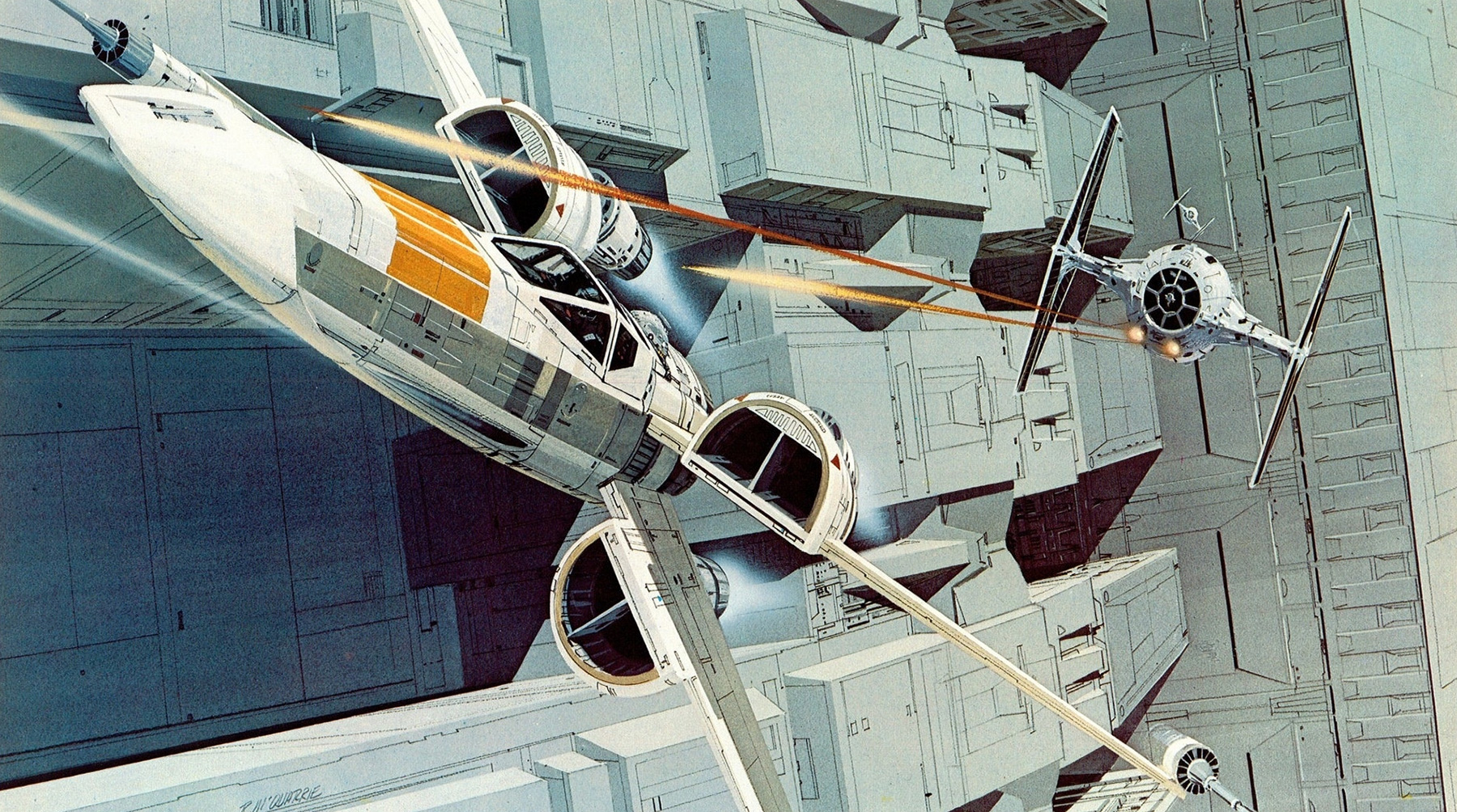 concept ships: Star Wars Saturday: Ralph McQuarrie