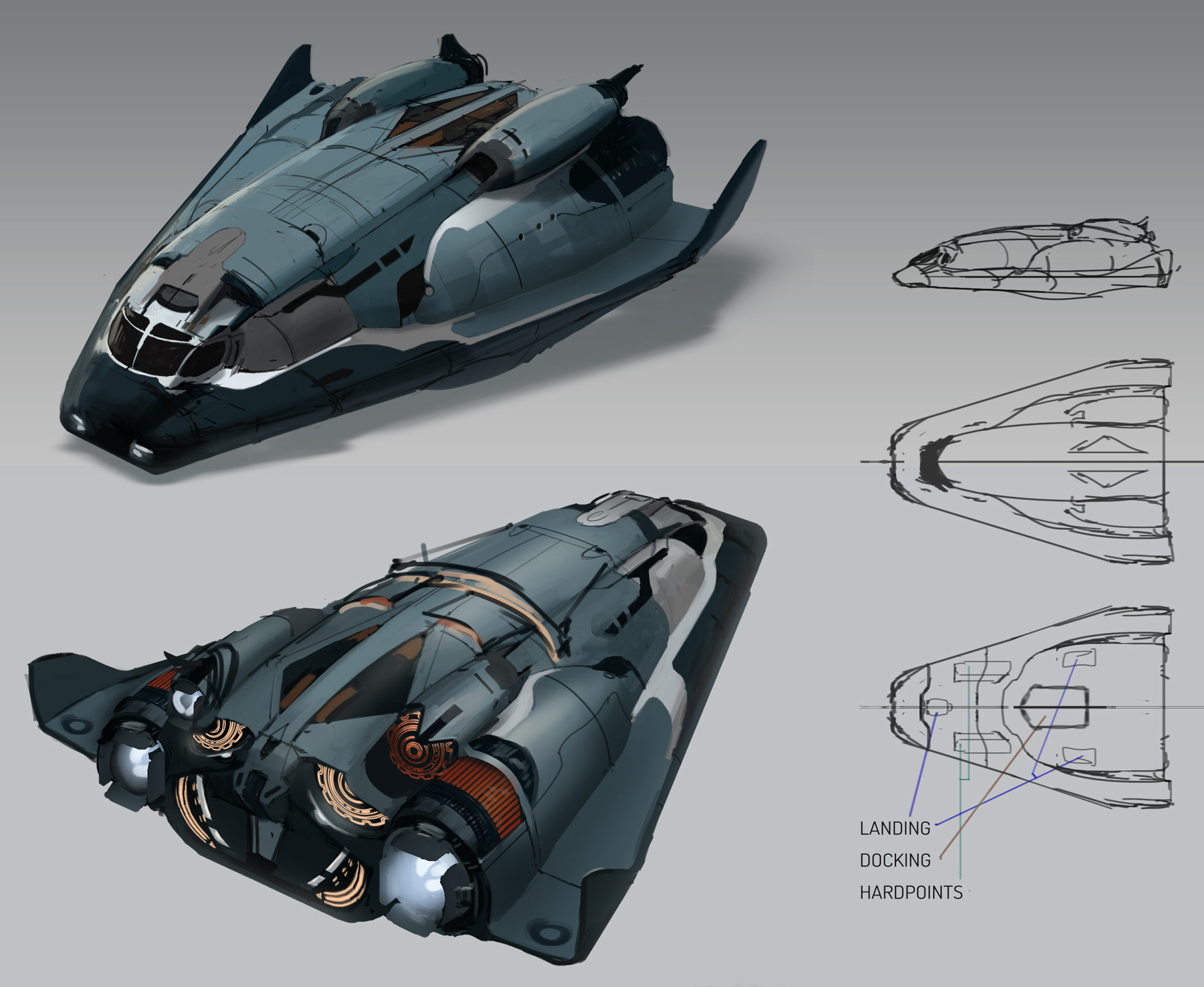 Concept ships elite dangerous concept art by badger for Elite design