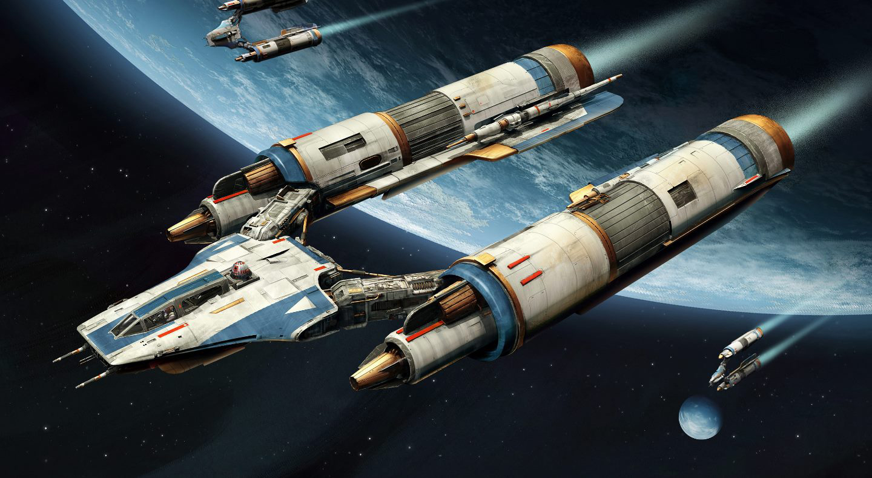 concept ships star wars concept spaceship art. Black Bedroom Furniture Sets. Home Design Ideas