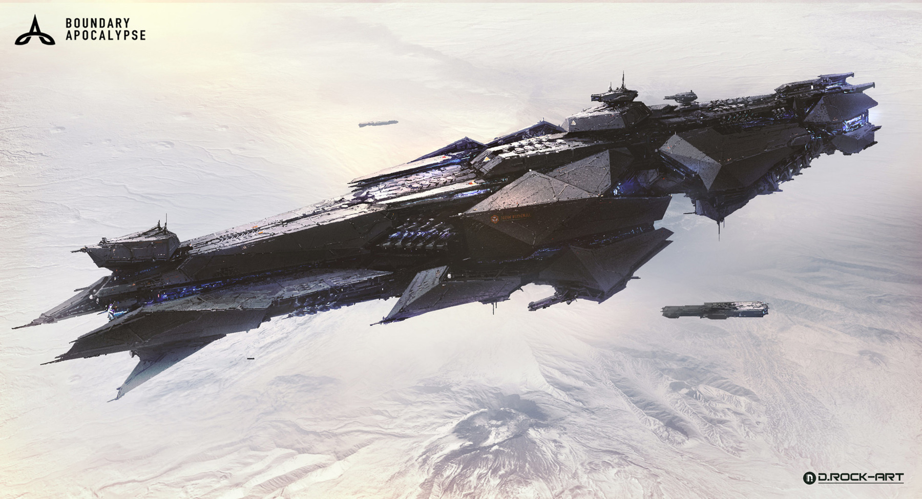 concept ships spaceship art by drock nicotine