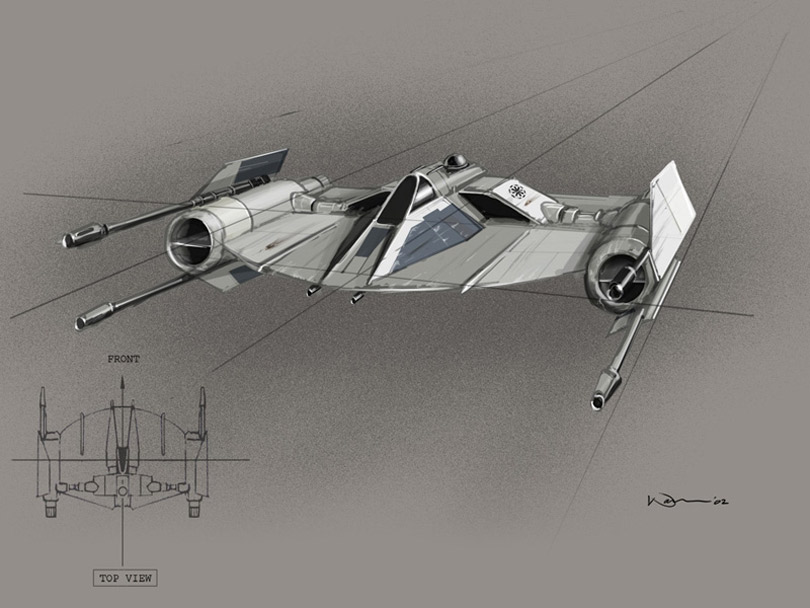 Keywords: warren fu concept artist lucasfilm star wars prequels concept