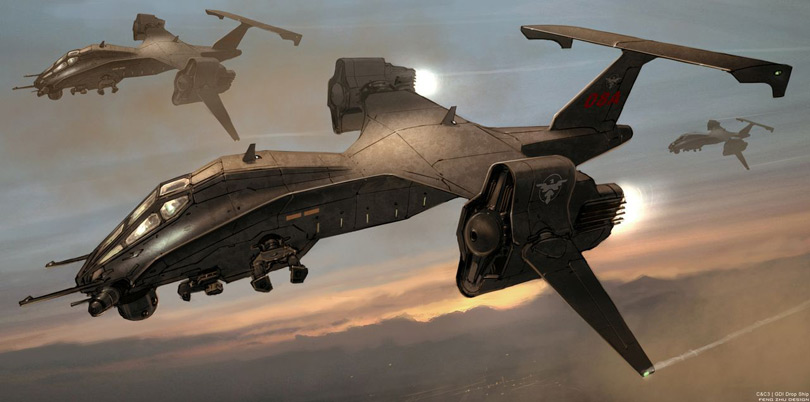 Keywords: concept spaceship art by feng zhu star wars concept ship artist